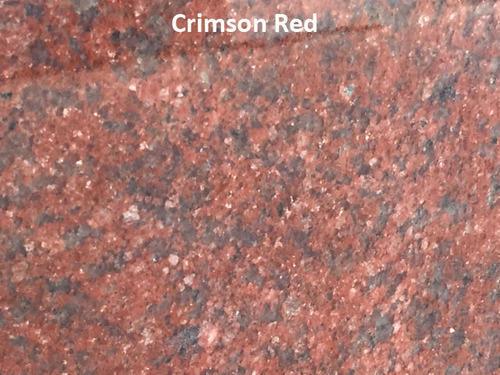 Crimson Red Granite Slab