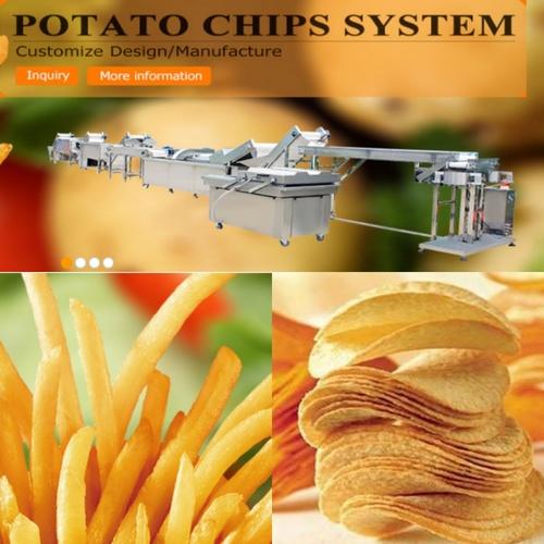 French Fries And Potato Chips Making Machine
