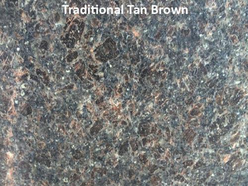 Traditional Tan Brown Granite Slab