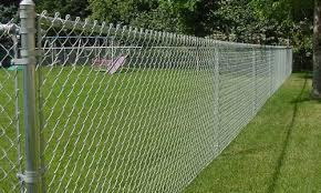 Galvanised Steel Chain Link Fence