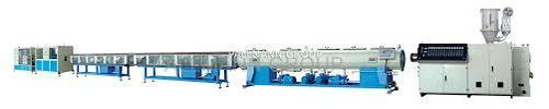 Hpmc Lldpe Plastic Pipe Extrusion Machine
