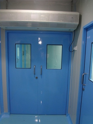 Modular Lab Entrance Door with Air Curtain in   Garkheda