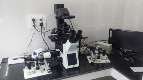 Olympus IX 73 ICSI Model Microscope