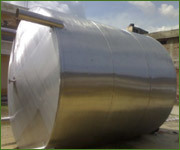 Stainless Steel Fuel Storage Tanks