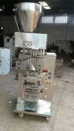 Two Lane Shampoo Packaging Machine in  8-Sector