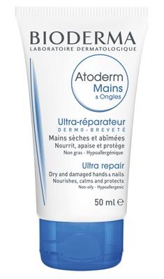 Bioderma Atoderm Mains And Ongles Moisturising Hand Cream