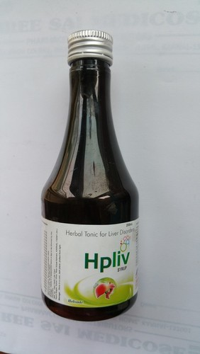Herbal Hpliv Syrup For Liver Disorder
