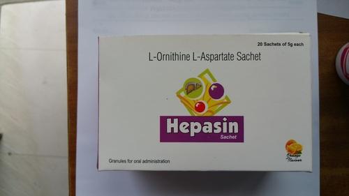 L-Ornithine L-Aspartate Sachet Hepasin Schets
