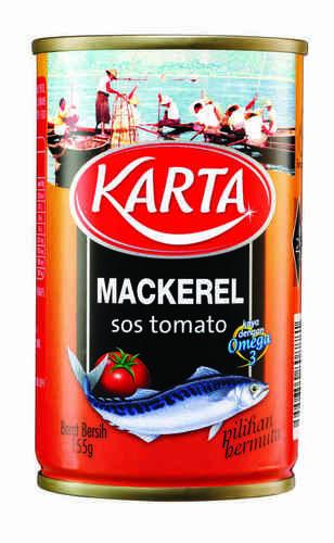 Karta Mackerel Tomato Sauce