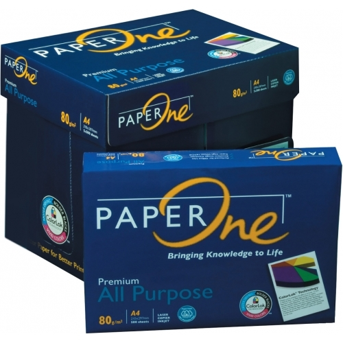 Paper One A4 Paper 80 GSM