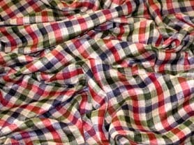 Checked Cashmere Shawls