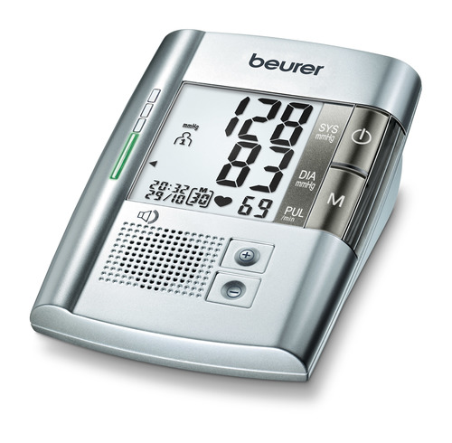Beurer Speaking Upper Arm Blood Pressure Monitor Bm 19