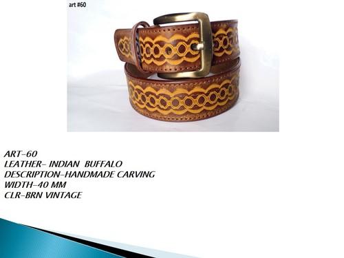 Leather Indian Buffalo Belts