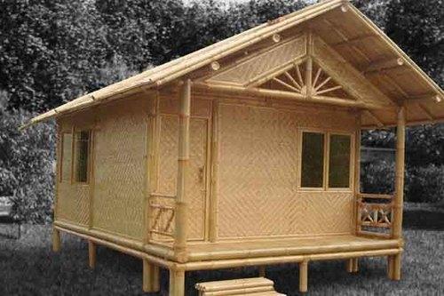 Nature Friendly Bamboo House Design: Wooden House In Puducherry, Puducherry, India