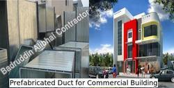 Prefabricated Duct For Commercial Building
