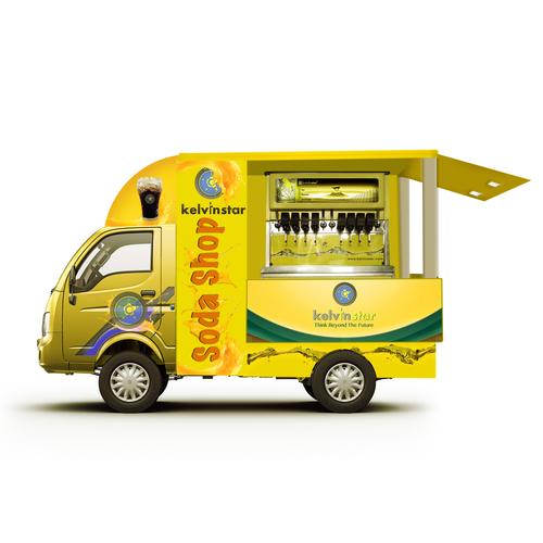 Commercial Soda Shop Mobile Vending Machine in  Preet Vihar