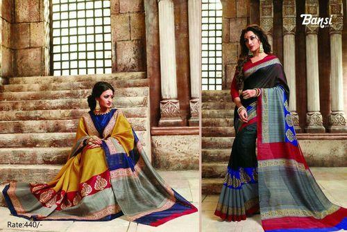 Bansi Cotton Sarees in  Guruwar Peth