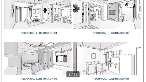 Full House 3d Designing Services
