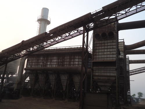 Gas Cleaning System For Electric Arc Furnace In Steel Plant