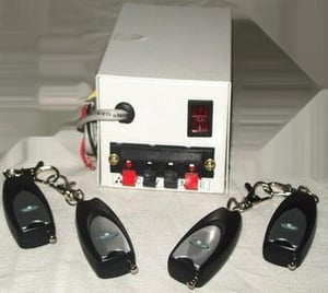 Remote Power Supply For Lock'S