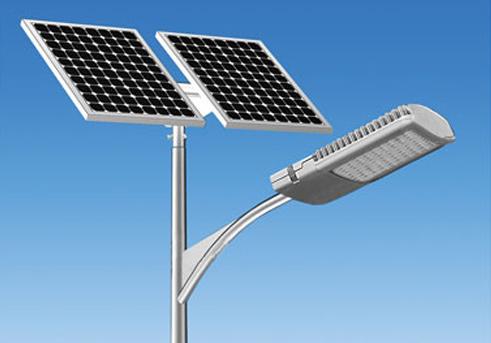 Solar Street Light in  M.I. Road