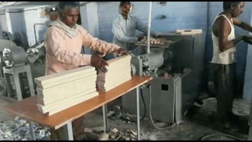 Automatic Detergent Cake Packing Machine