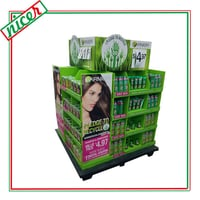 Advertising Pop Up Cosmetic Stand Display Carton