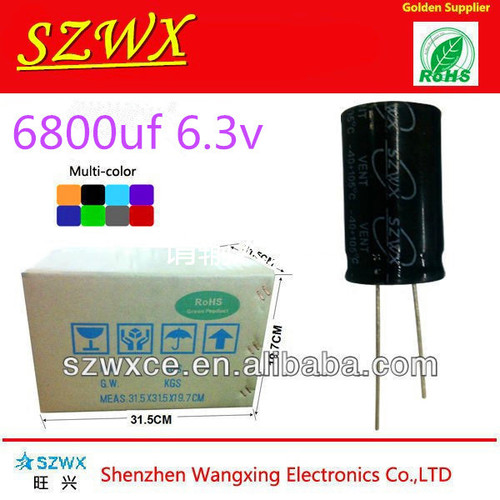 6800UF 6.3V Aluminum Electrolytic Capacitor in   Baoan District