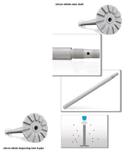 Silicon-Nitride Degassing Rotor For Molten Aluminium