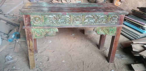 Reclaim Wood Console Table in  New Area