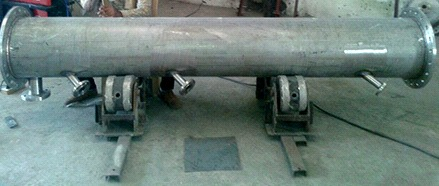 S S Column for Solvent and Resin Recovery