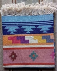 Hand Woven Cotton Durry Or Rug