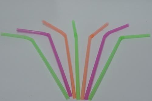 Plastic Strip Straw