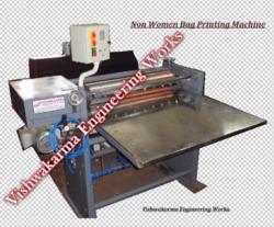 High Performance Non Woven Printing Machine
