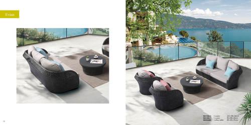 Outdoor Sofa Set (Evian)