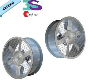 Reliable Performance Direct Drive Axial Flow Fan