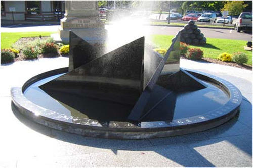 Granite Water Fountain