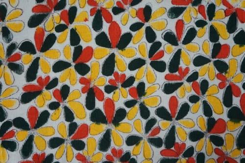 Cotton Corduroy Printed Fabrics