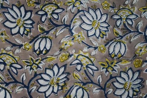 Cotton Hand Block Print Fabrics
