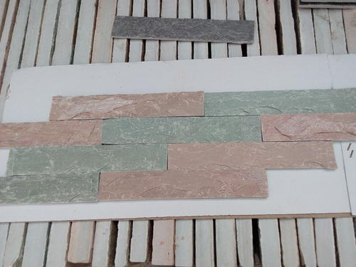 Limestone Pink And Green - Wall Cladding