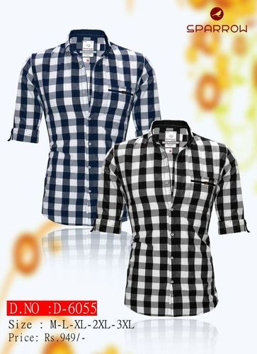 Men's Chex Casual Shirt in  New Area
