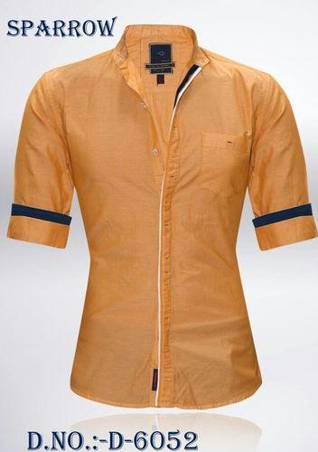 Men's Full Sleeve Plain Shirt in  New Area
