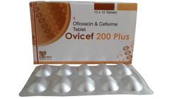 Cefixime 200mg And Ofloxacin 200mg Tablet
