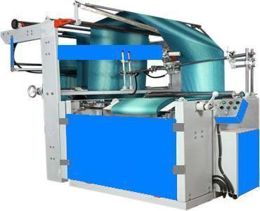 Fabric Double Folding And Lapping (Book Fold) Machine