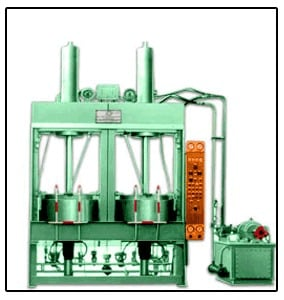 HMG Hydraulic BEGOMATIC Double Cavity Tyre Curing Press