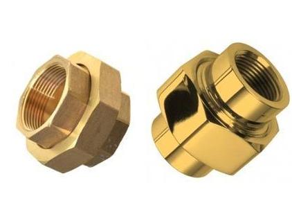 Brass Pipe Union