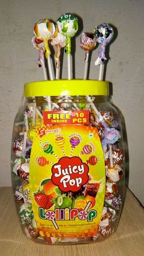 Juicy Pop Lollipop