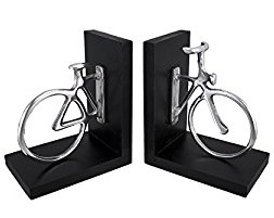 Aluminum Bicycle Bookends