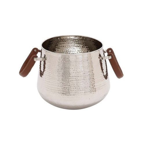 Steel Hammered Wine Cooler
