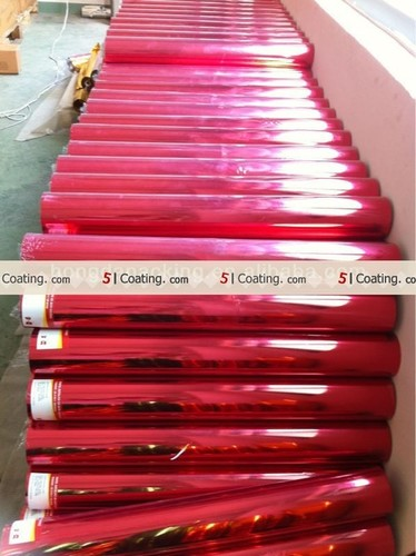 Metalised And Coated Polyester Film